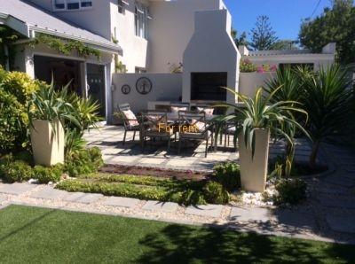 Main House - outside patio area