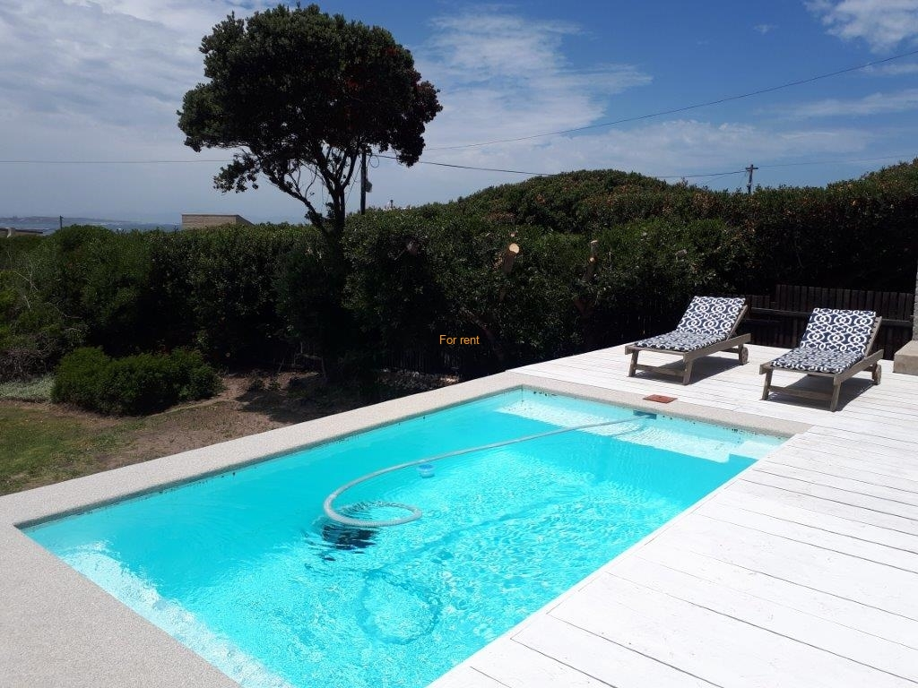 Swimming Pool with glimpse of seaview